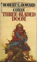 THREE BLADED DOOM, Robert Howard - CLASSIC PULP SWORD ADVENTURES IN AFGH... - $5.00