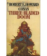 THREE BLADED DOOM, Robert Howard - CLASSIC PULP SWORD ADVENTURES IN AFGH... - $5.00