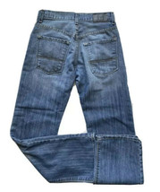 Levis Denizen 218 Straight Leg Jeans Boys 14 Regular Slim Fit Blue - $14.84
