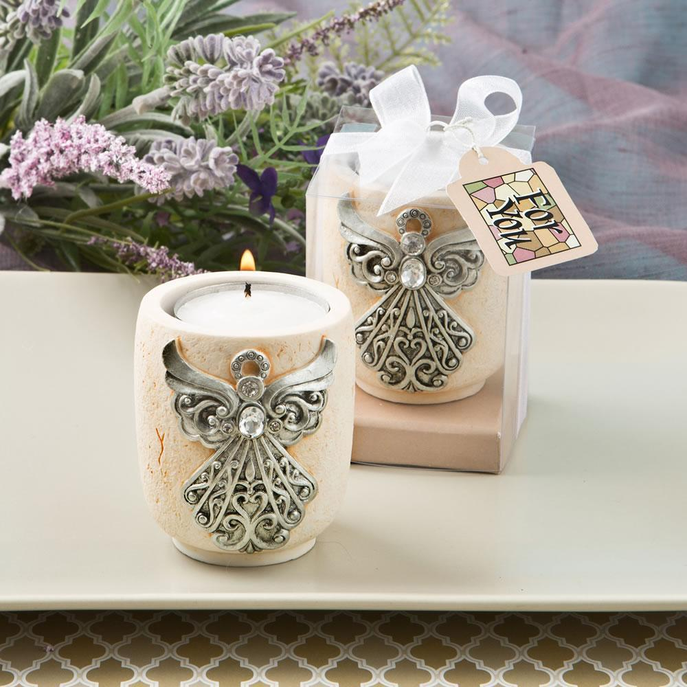 Exquisite angel design candle tea light holder from fashioncraft  - $6.99