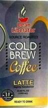 Bean Liberator Cold Brew Slightly Sweetened Latte Coffee 33.8 oz - $16.82
