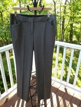 "EXPRESS DESIGN STUDIO ""EDITOR"" BROWN DRESS PANTS SIZE: 10 R Pre-owned!! - $34.65"