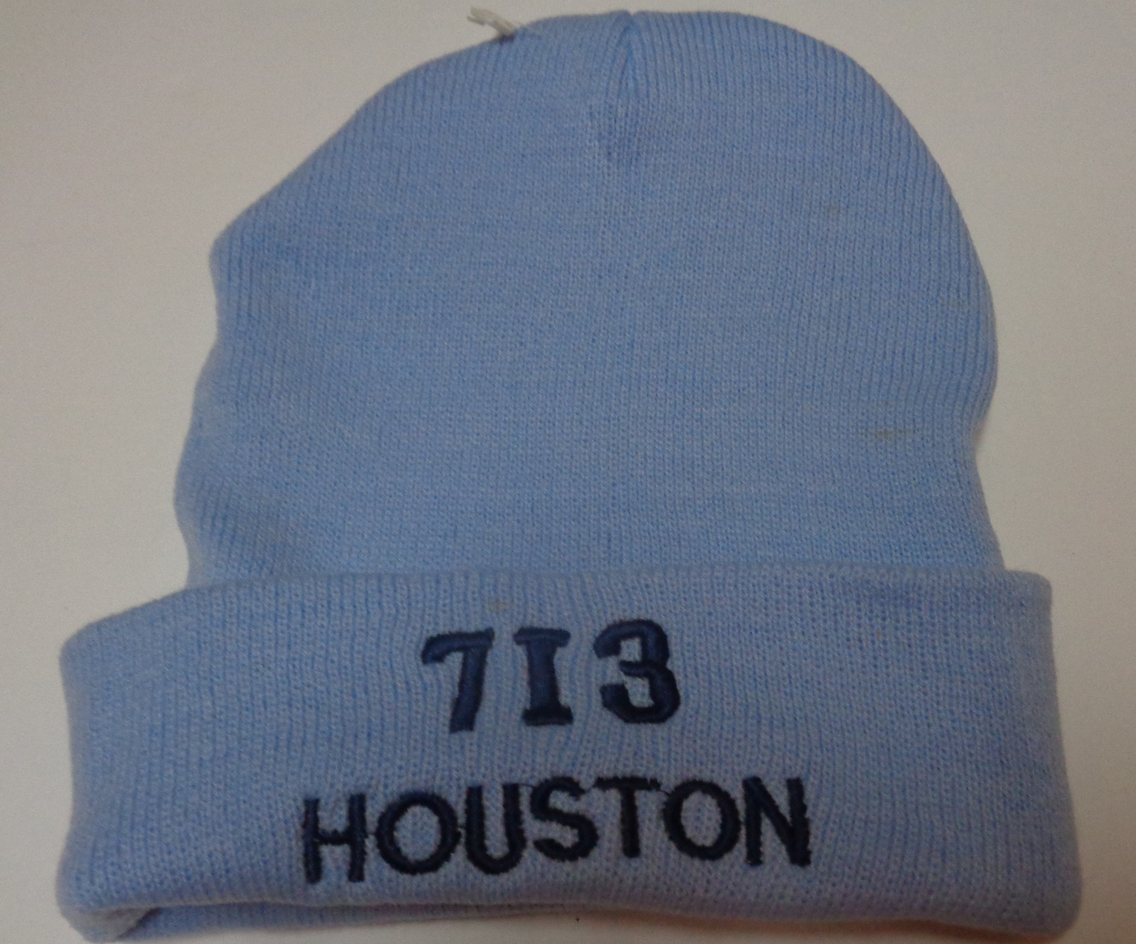 Houston City Area Code 713 BEANIE Hat Various Colors Adult Sz NEW Free Shipping