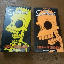 The Simpsons Halloween VHS Cassettes Set of 2 - $14.89