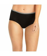 Hanes Womens Breathable Cotton Stretch Brief 2 Pack, Size 6 - $7.91