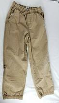 Children's Place Pants 8 Boys Tan Cotton Adjustable Waist - $11.87