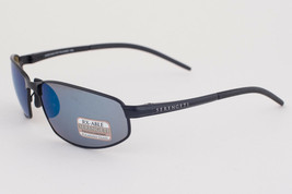 Serengeti Granada Satin Black / Blue Polarized 555nm Sunglasses 8260 - $283.22