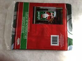 Xmas House Door Cover Home Decor 30 x 60 Santa Claus HO HO HO NEW - £5.24 GBP