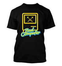Bad Computer #365 - Men's T-Shirt - Funny Humor Comedy nerd mac os9 osx windows - $24.99