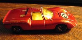 Matchbox Vintage Porsche 910 Rennauto - 1970 Lesney UK England Rot Renns... - $24.56
