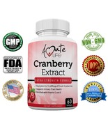 Amate Life Cranberry Extract (12660mg) for Urinary Tract Defense with Vi... - $30.00