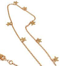 Long Necklace 70 cm, Silver 925, Pendant Mermaid, Stars Marine, le Favole image 5