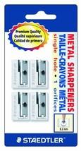 Staedtler Handheld Pencil Sharpeners, Graphite, 4 pieces (510 10 BK4) - ₹877.31 INR