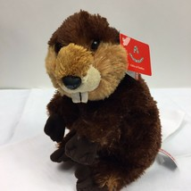 Aurora Eager the Beaver Plush Stuffed Animal Toy Gifts of Smiles #30533 - $10.84