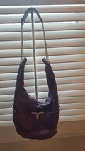 Chloe Milton, Dark Purple Lambskin Leather Hobo Bag Large (Authentic) - €556,72 EUR