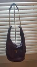 Chloe Milton, Dark Purple Lambskin Leather Hobo Bag Large (Authentic) - $12.143,15 MXN