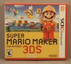 Super Mario Maker (Nintendo 3DS 2016) BRAND NEW Y-Fold Sealed 1st Print ... - $79.95
