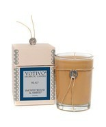 Votivo Smoked Wood and Amber #62 Aromatic Candle Plus Free Shipping - £20.48 GBP