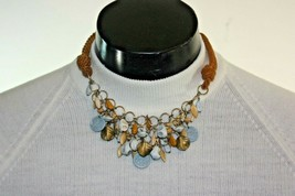 Necklace Vintage Italian Costume Jewelry Boho Estate Find Unknown Hallm... - $49.45