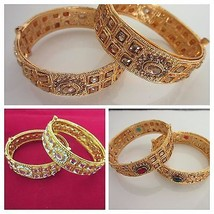 Indian Traditional Kundan Gold Plated Bridal & Wedding Fashion Jewelry B... - $13.75