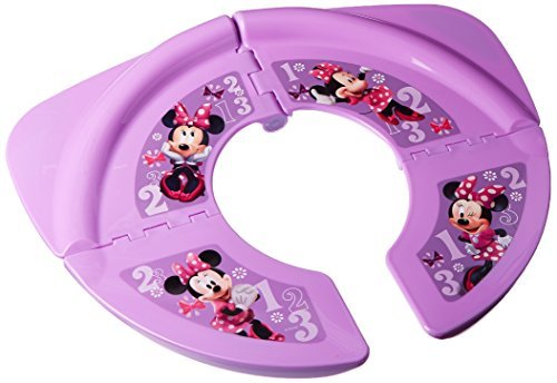 "Disney Minnie Mouse""Bowtique"" Travel/Folding Potty, Pink"
