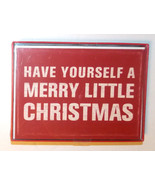 Paper Images 18 Christmas Cards Have Yourself A Merry Little Christmas NIB - $9.49