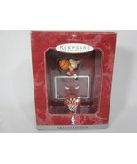 1998 NBA Collection Hallmark Keepsake Ornament Chicago Bulls New In Box - $5.20