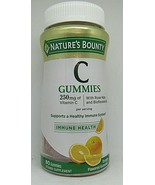 Nature's Bounty Vitamin C Gummies 250mg 80 Gummies - $12.86