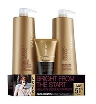 Joico K-Pak Color Therapy Shampoo+Conditioner Liter Set w/Revitaluxe Tre... - $64.35