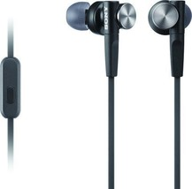 Sony MDR-XB50AP Black In-Ear Only Headsets - ₹1,331.32 INR