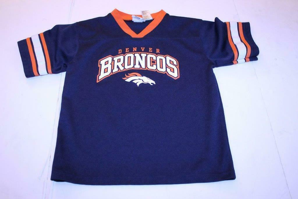 Primary image for Youth Denver Broncos XL (14/16) Jersey Shirt NFL Team Apparel