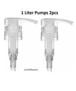Pump for 1 liter (33.8oz) Bottles for Lotion,Shampoo, Conditioner  by we... - $8.36