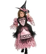 Adorable Rubie's Deluxe Sweetheart Witch Pink and Black Costume - Large ... - €33,22 EUR