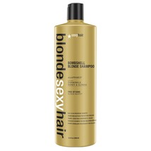 Sexy Hair Blonde Color Preserving Bombshell Blonde Shampoo 33.8oz - $26.29