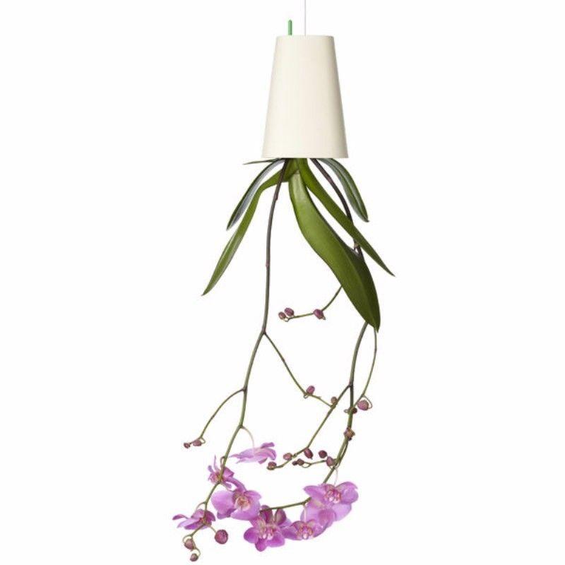Upside Down Plant Pot Garden Hanging Flowers Indoor Suspension Basket Ceiling