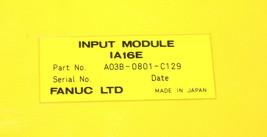 FANUC A03B-0801-C129 INPUT MODULE A03B0801C129 image 2