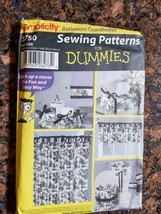 2002 Simplicity 5750 PATTERN Sewing Patterns for Dummies Bathroom Coordinates - $13.06