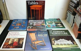 7 Books  Woodworking Patterns, Projects, Plans, Designs, Ideas Country F... - $29.65