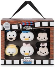 Disney Store 30th Anniversaire Tsum Peluche Ensemble de 6 Mini 3 1.3cm - $44.07