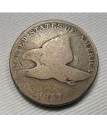 1857 Flying Eagle Cent AG Coin AE151 - $16.40