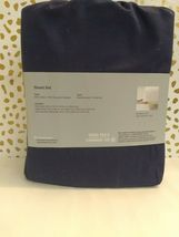 Made by Design Solid Easy Care TWIN/XL TWIN  BLUE AMETHIST - SEALED NEW! image 6