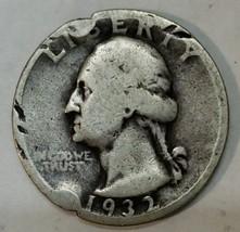 1932D George Washington Quarter 90% Silver Coin Lot# E 103