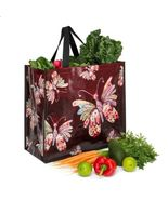 Red Butterfly Shopper Bag Tote - $29.76