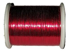 Coats & Clarks Glitz Metallic Foil Decorative Thread, Red #805 image 1