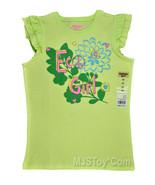 NWT Oshkosh B'gosh Friendly Eco Girl T-Shirt Tee Size 6 - $8.99