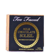 Too Faced Milk Chocolate Soleil Bronzer - Light/Medium Matte 0.08 oz Tra... - $12.99