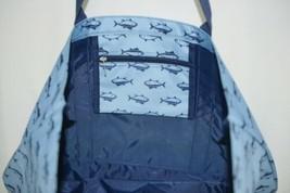 MB M730FINN Finn Tote Bag Color Blue Navy Fish Polyester image 2