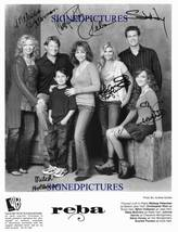 An item in the Entertainment Memorabilia category: REBA CAST SIGNED AUTOGRAPH 8X10 RP PHOTO ALL 7  McENTIRE +