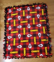 Kansas City Chiefs Plaid Fleece Tie Blanket - $69.99