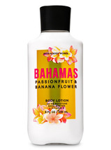 Bath & Body Works Bahamas Passionfruit & Banana Flower 24-Hour Body Lotion - $13.47